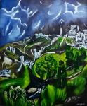 El Greco Tribute - The View of Toledo by Olvium