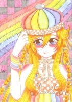 Saiji: Rainbow and Checkers by saphi-saphi