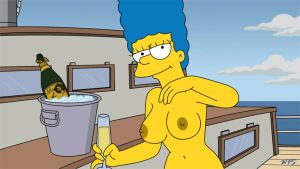 Marge Topless Animation 2 by WVS1777