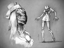 My Nurse of Silent Hill... by TatianaLarina