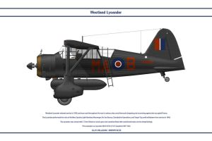 Lysander GB 161 Sqn by WS-Clave