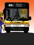 Hawaiian bus driver mongoose! by cartercomics