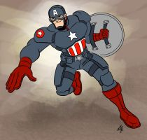 New Captain America Costume! by scootah91