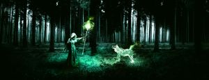 Wolf invocation by L-Art-chitecte