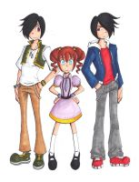 The Triumphant Trio by 4Wendy