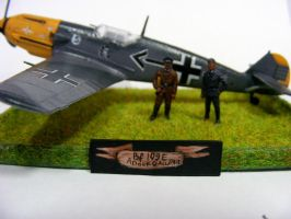 Messerschmitt Bf 109 E (Adolf Galland) (2) by Quenta-Silmarillion