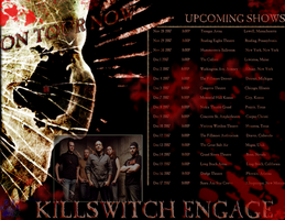 Killswitch Engage Poster Desig by Moyiacat31