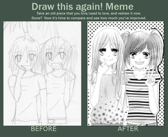 Before and after by Fuugen