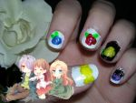 Welcome To The World Of Guertena - Ib Nails by NoSuchThingAsLuck