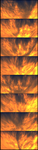 Fire backgrounds by KPEKEP