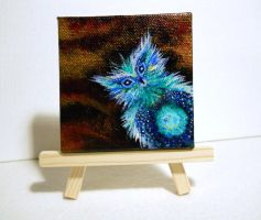 Mini Canvas and Easel by Kellywatchthestars