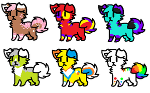 Random Dog Adopts -Closed- by Scarheart-adopts