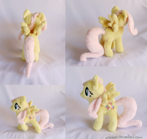 Mini Poseable Fluttershy Plush by xBrittneyJane