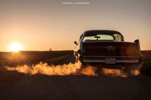 1957 Cadillac Series 62 - Shot 15 by AmericanMuscle