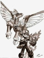 MegaMan Starforce by Tarem