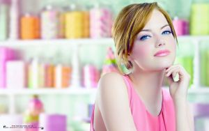 Wallpaper, Emma Stone by MorePoison