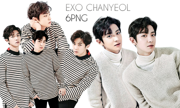 EXO Chanyeol PNG Pack {Season Greetings 2017} by kamjong-kai