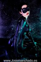 Catwoman Body Paint by Jose Manchado by Morganita86