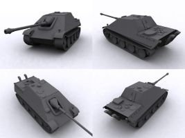 Jagd Panther by FrZnChAoS