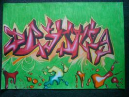 Graffiti for my brother by turanneth