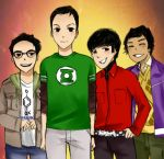 The Big Bang Theory. by MachoMachi