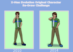 (Very Late) XMEOC Comparison Redraw-Patrick by lucida0lownes