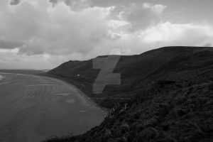 Rhossili four by LJNPhotography