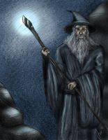 Gandalf the Grey by Kaizoku501