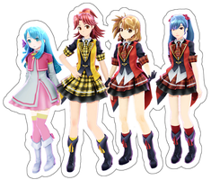 [MMD] AKB0048 MODELS DOWNLOAD by Len11999