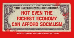USA Cannot Afford Socialism by RedTusker