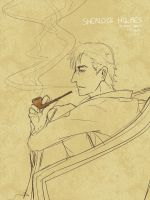 SH - His pipe. by orb01