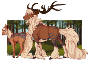 PKMNation: The forest prince evolves by CatLuvsCookies