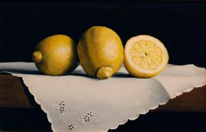 Lemons and Linen by virginiarobson