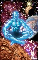 Dr. Manhattan by rachellerosenberg
