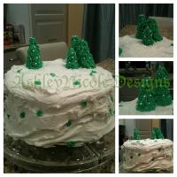 Christmas Tree Cake 2012 by LiveInAMoment