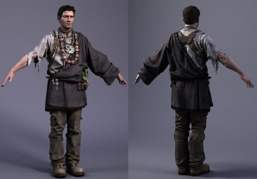 Uncharted_Nathan Drake by darkmummy