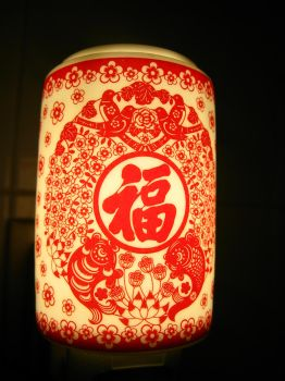 Chinese Paper Cutting Light by BlueCerise
