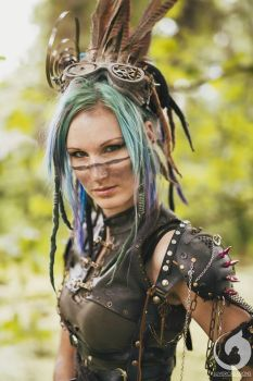 Tribe Raider by LivingDreadDoll