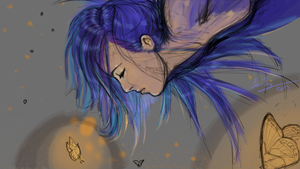 Butterflies: Work in Progress by artoftang