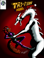 Tri-paw Agents vs Demons cover ch 4 by MrSman5