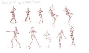 How to draw Poses EASY!!! Mary Kagami P. 2 by JetEffects
