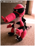 Krookodile Plush by Allyson-x