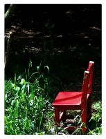 A Little Red Chair by AcceptedOutcast