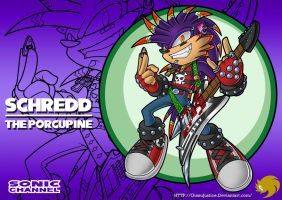 GJ Schredd-The Porcupine by ginsujustice