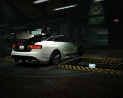 Audi S5 back by RyuMakkuro