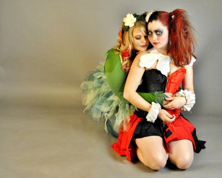 Harley and Ivy Snuggle by Vpoolephotos