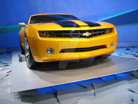 .....Camaro Bumblebee by BloodyAthena279