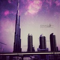 Magical Burj Khalifa by Einas-A