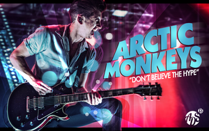 Arctic Monkeys' Alex Turner 2013 Wallpaper by albertodsantos