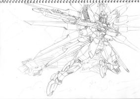 Strike Freedom with Eternal by Fearless87